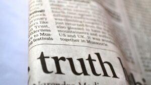 truth, newspaper, news